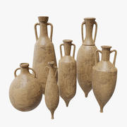 Amphora Collection PBR 3d model