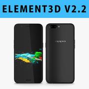 E3D - Oppo R11 Black model 3d model