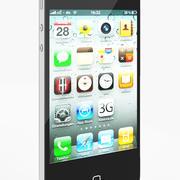 苹果智能手机4 3d model