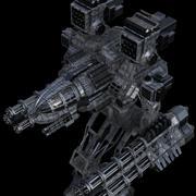HeavenStream Creations Mechwarrior 3d model