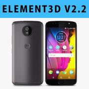 E3D-Motorola Moto G5Sグレー3D 3d model