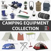 キャンプ用品コレクション2 3d model