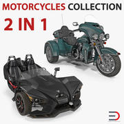 Trike Motorcyklar 3D Models Collection 3d model