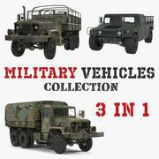 Askeri Kargo Araçları 3D Model Koleksiyonu 3d model