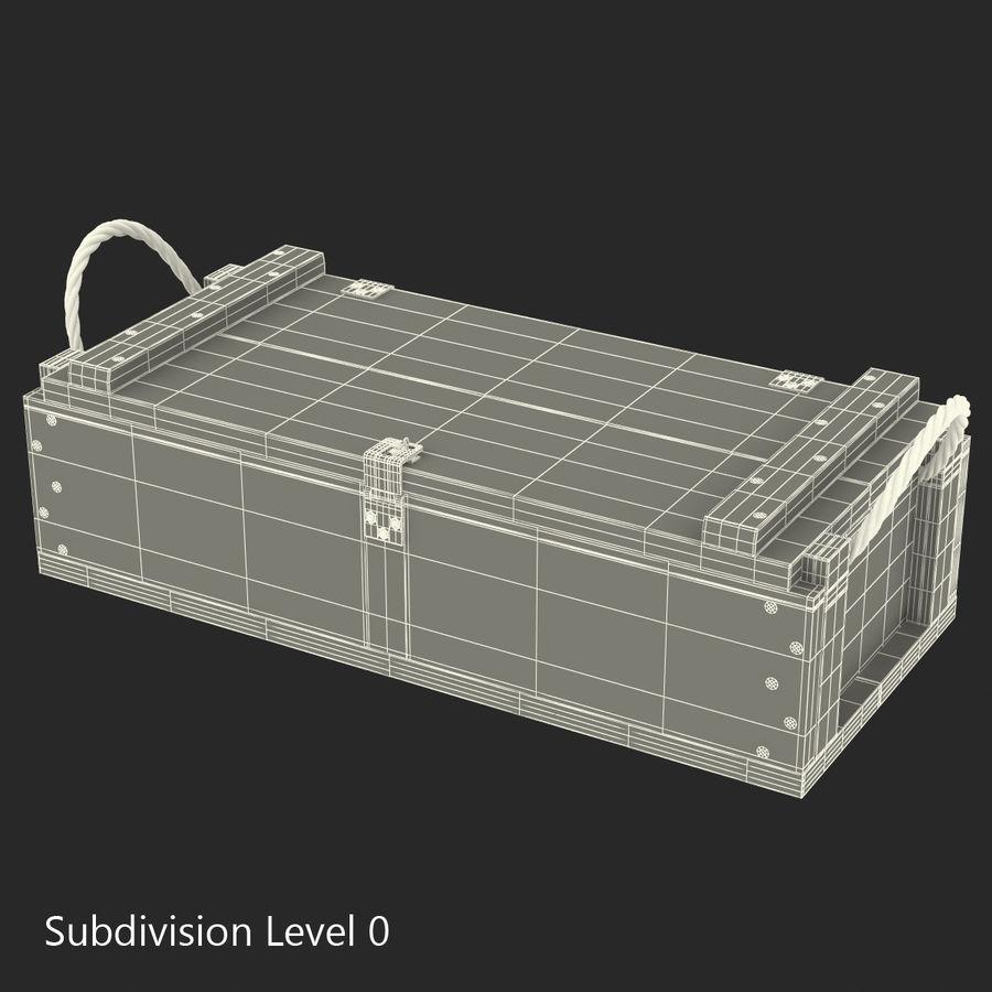 軍用弾薬箱コレクション royalty-free 3d model - Preview no. 35