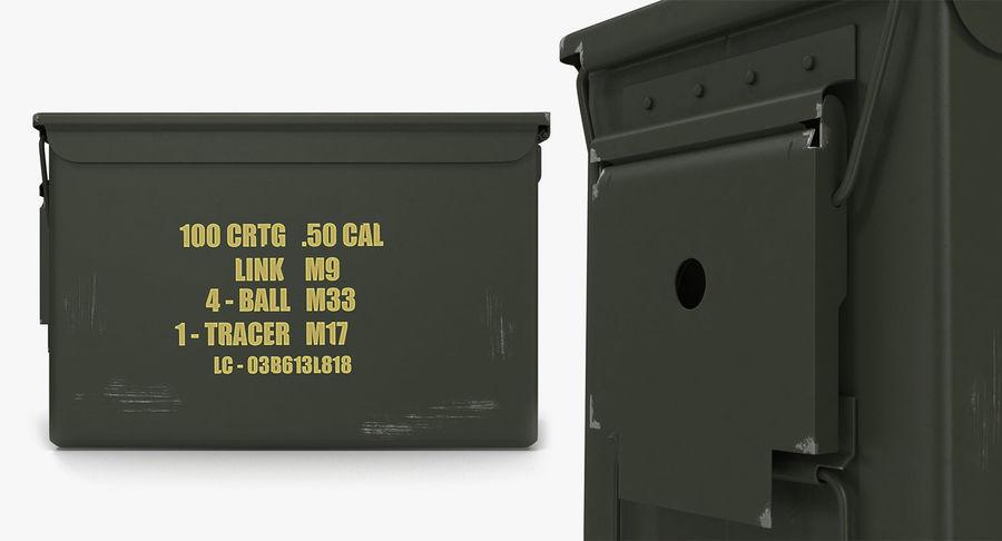 軍用弾薬箱コレクション royalty-free 3d model - Preview no. 24