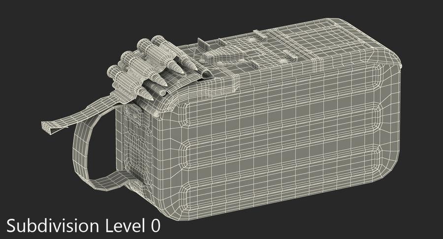 軍用弾薬箱コレクション royalty-free 3d model - Preview no. 27