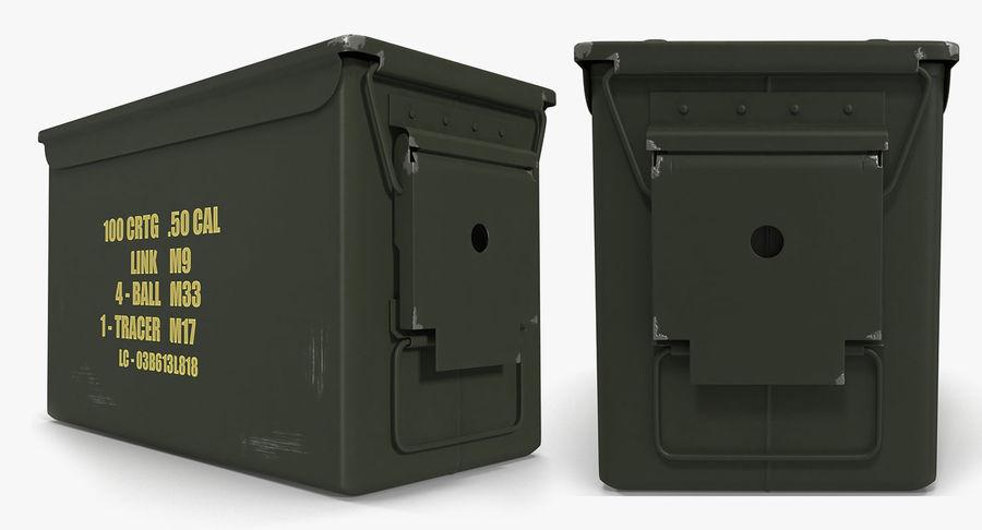 軍用弾薬箱コレクション royalty-free 3d model - Preview no. 23