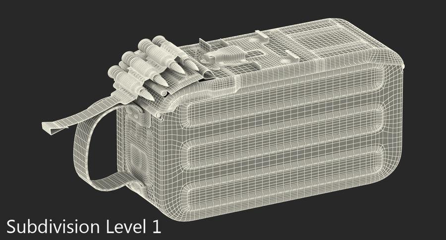 軍用弾薬箱コレクション royalty-free 3d model - Preview no. 28