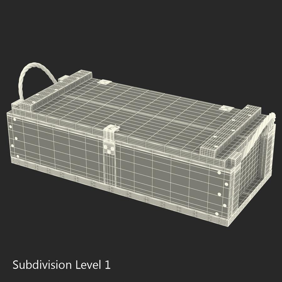 軍用弾薬箱コレクション royalty-free 3d model - Preview no. 36