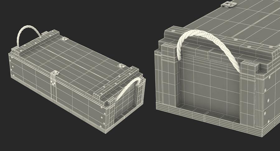 軍用弾薬箱コレクション royalty-free 3d model - Preview no. 49