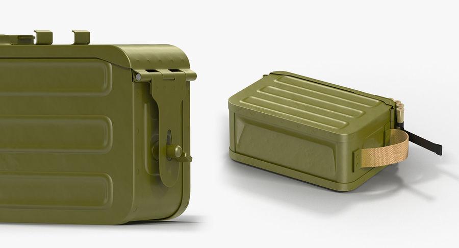 軍用弾薬箱コレクション royalty-free 3d model - Preview no. 18
