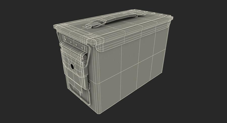 軍用弾薬箱コレクション royalty-free 3d model - Preview no. 50