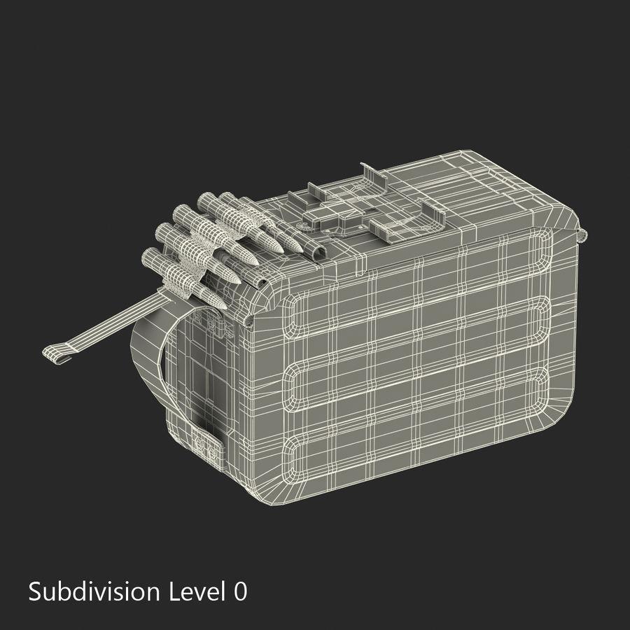 軍用弾薬箱コレクション royalty-free 3d model - Preview no. 31