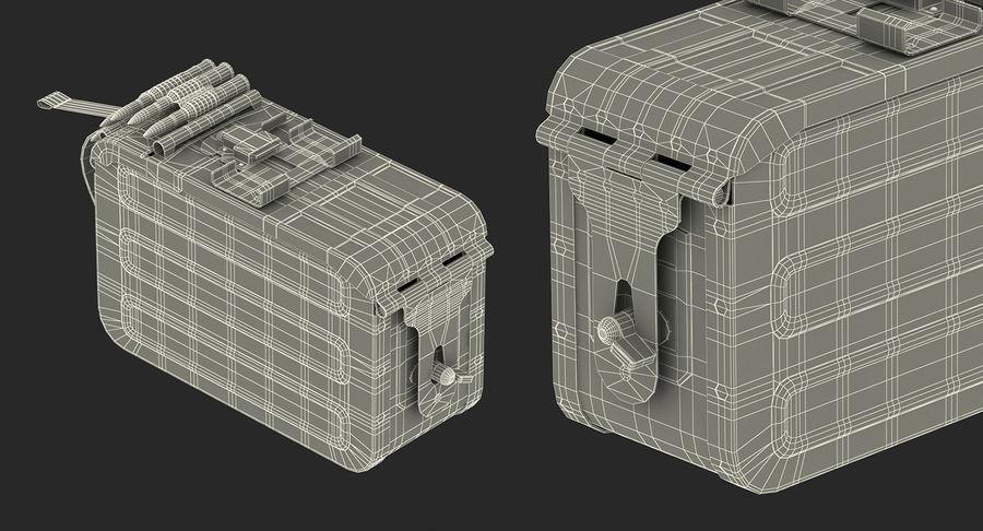 軍用弾薬箱コレクション royalty-free 3d model - Preview no. 47