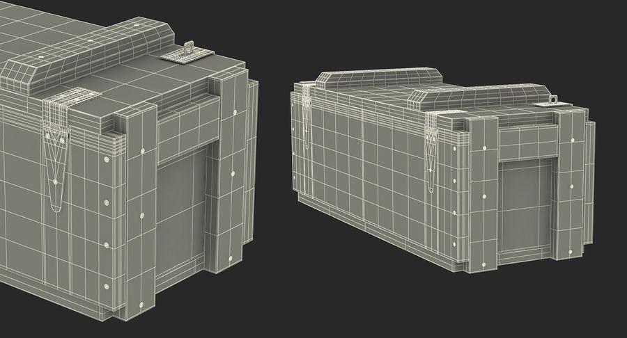 軍用弾薬箱コレクション royalty-free 3d model - Preview no. 48