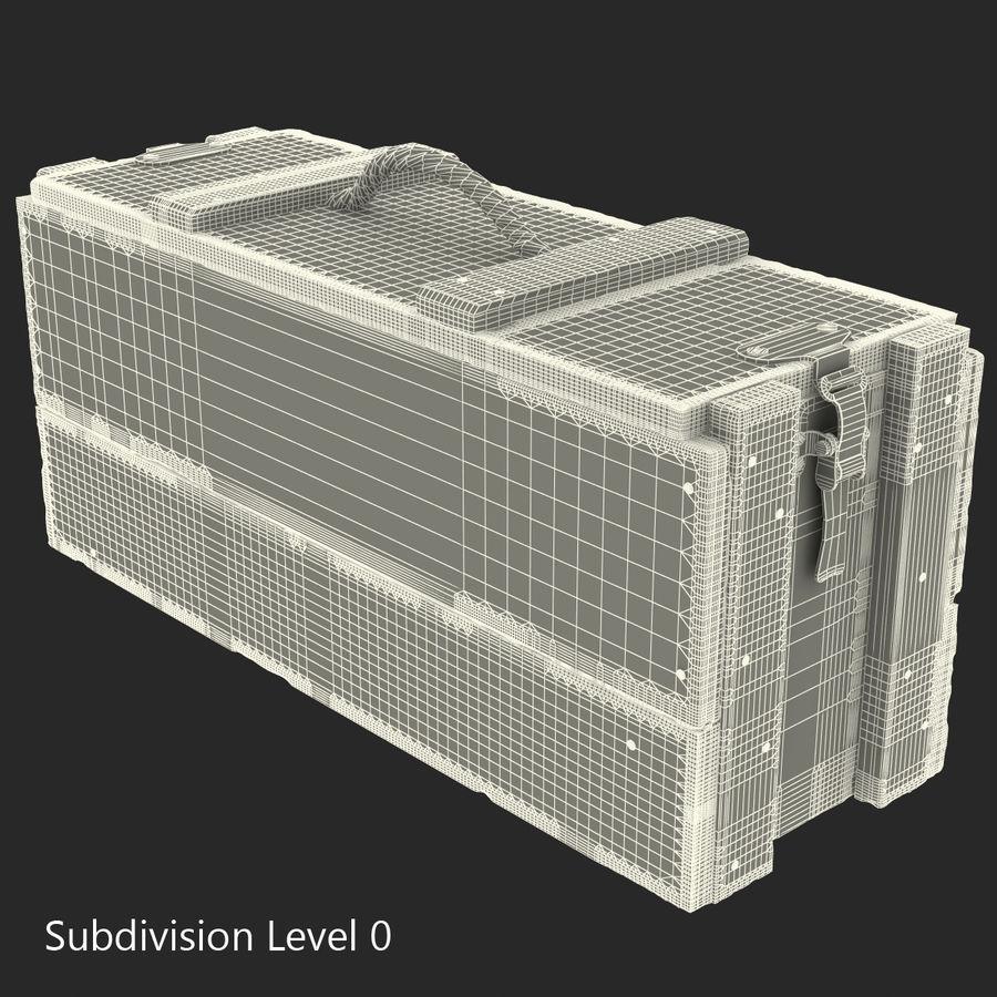 軍用弾薬箱コレクション royalty-free 3d model - Preview no. 37