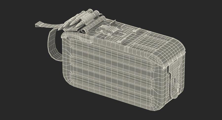 軍用弾薬箱コレクション royalty-free 3d model - Preview no. 45