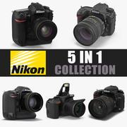 Nikon 카메라 3D 모델 컬렉션 2 3d model