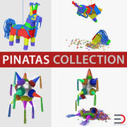 Pinatas Collection 2 3d model