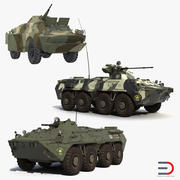 Russian Armoured Vehicles Collection 3d model