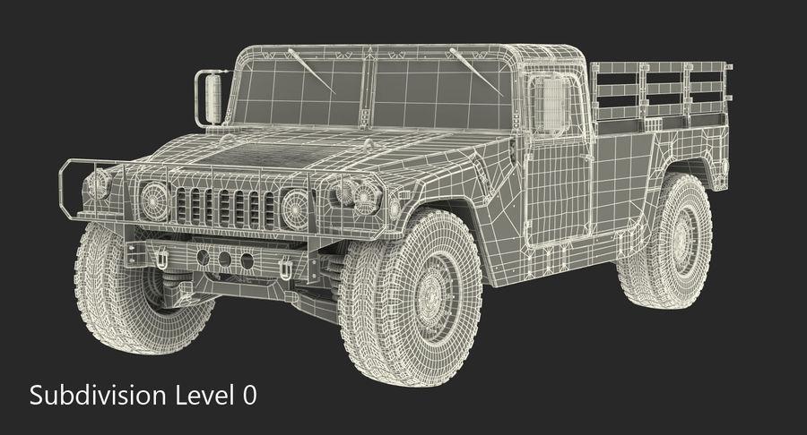 Коллекция грузовых военных автомобилей royalty-free 3d model - Preview no. 41