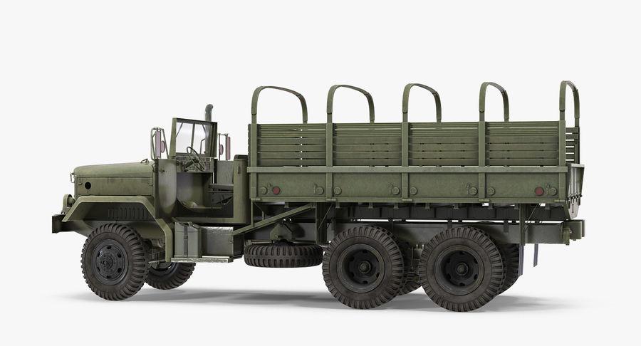 Коллекция грузовых военных автомобилей royalty-free 3d model - Preview no. 19