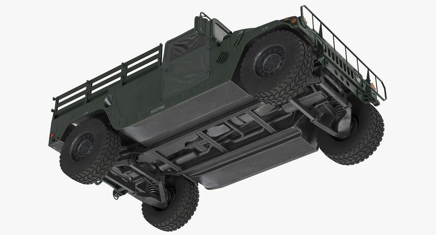 Коллекция грузовых военных автомобилей royalty-free 3d model - Preview no. 16