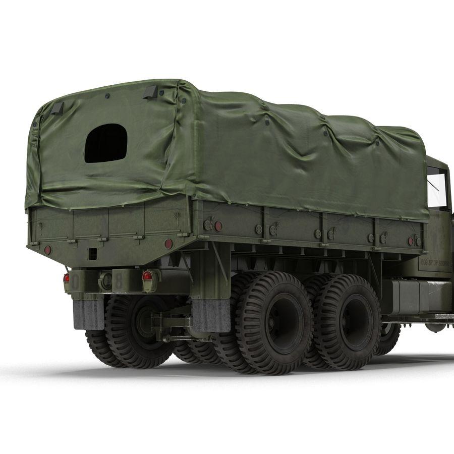 Коллекция грузовых военных автомобилей royalty-free 3d model - Preview no. 37