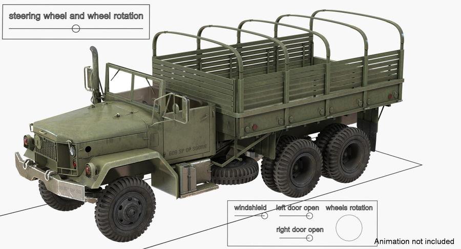 Коллекция грузовых военных автомобилей royalty-free 3d model - Preview no. 25
