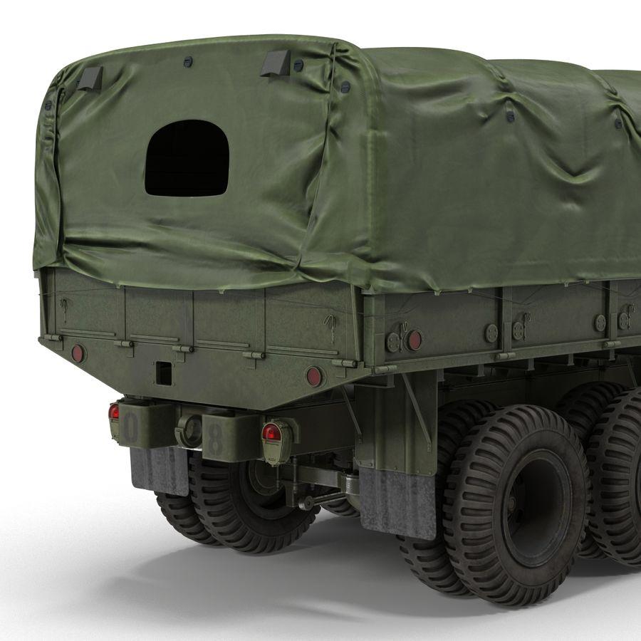 Коллекция грузовых военных автомобилей royalty-free 3d model - Preview no. 39