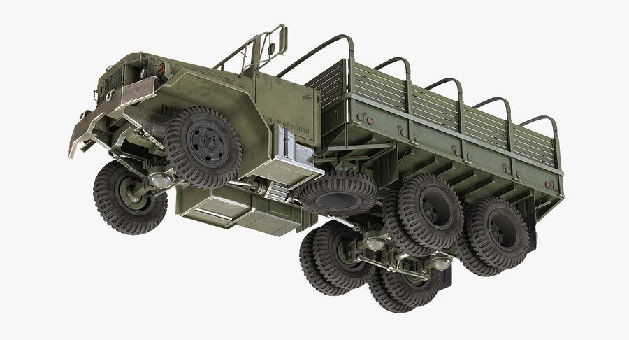 Коллекция грузовых военных автомобилей royalty-free 3d model - Preview no. 24