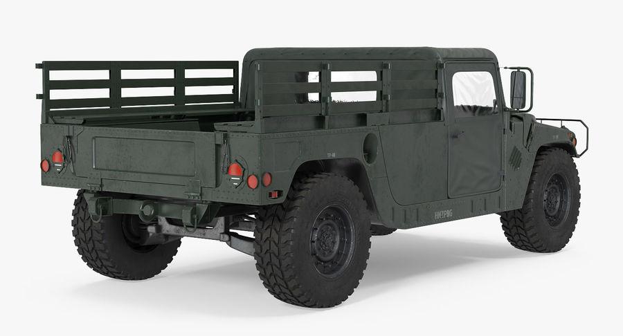 Коллекция грузовых военных автомобилей royalty-free 3d model - Preview no. 10