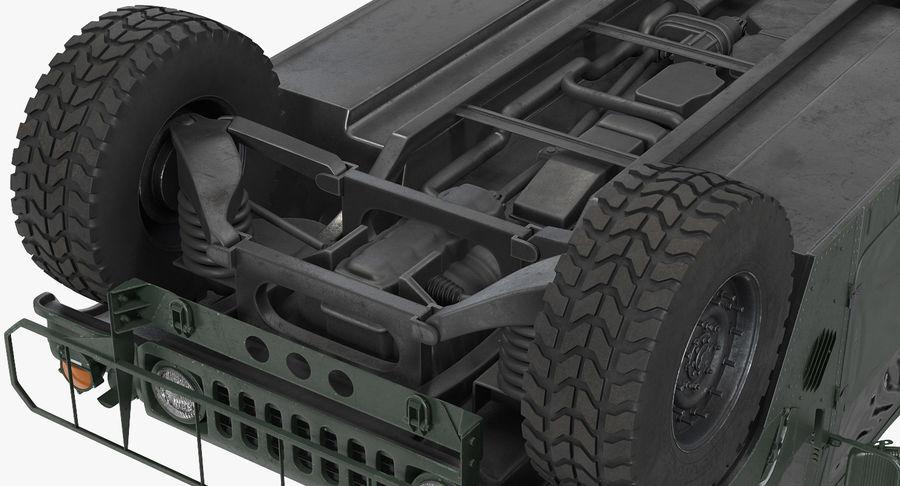 Коллекция грузовых военных автомобилей royalty-free 3d model - Preview no. 15
