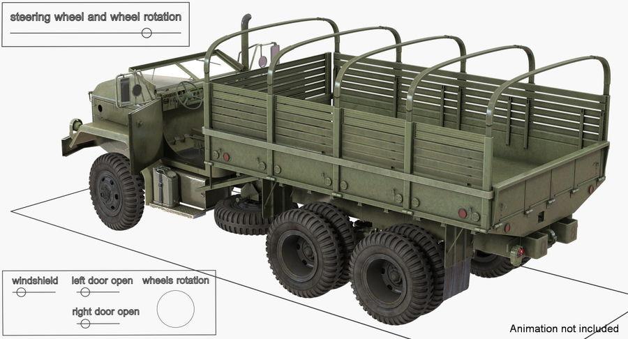 Коллекция грузовых военных автомобилей royalty-free 3d model - Preview no. 26