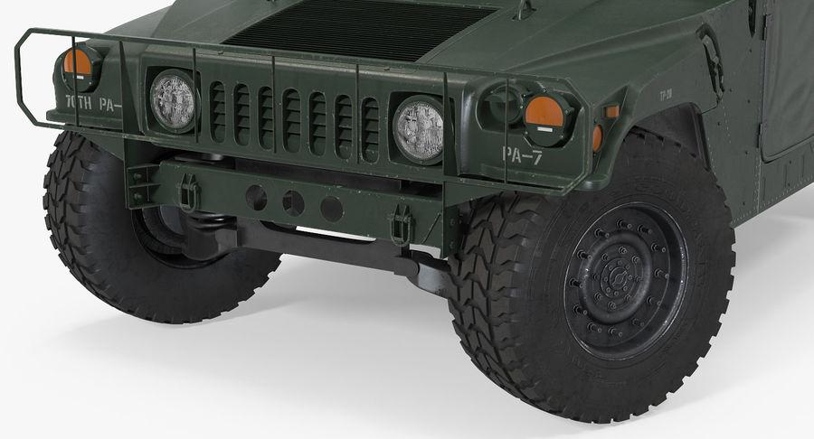 Коллекция грузовых военных автомобилей royalty-free 3d model - Preview no. 11