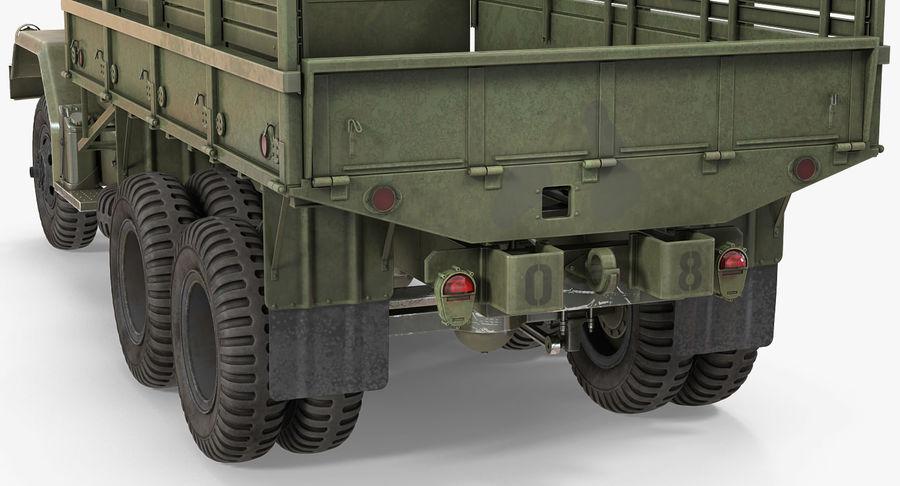 Коллекция грузовых военных автомобилей royalty-free 3d model - Preview no. 23