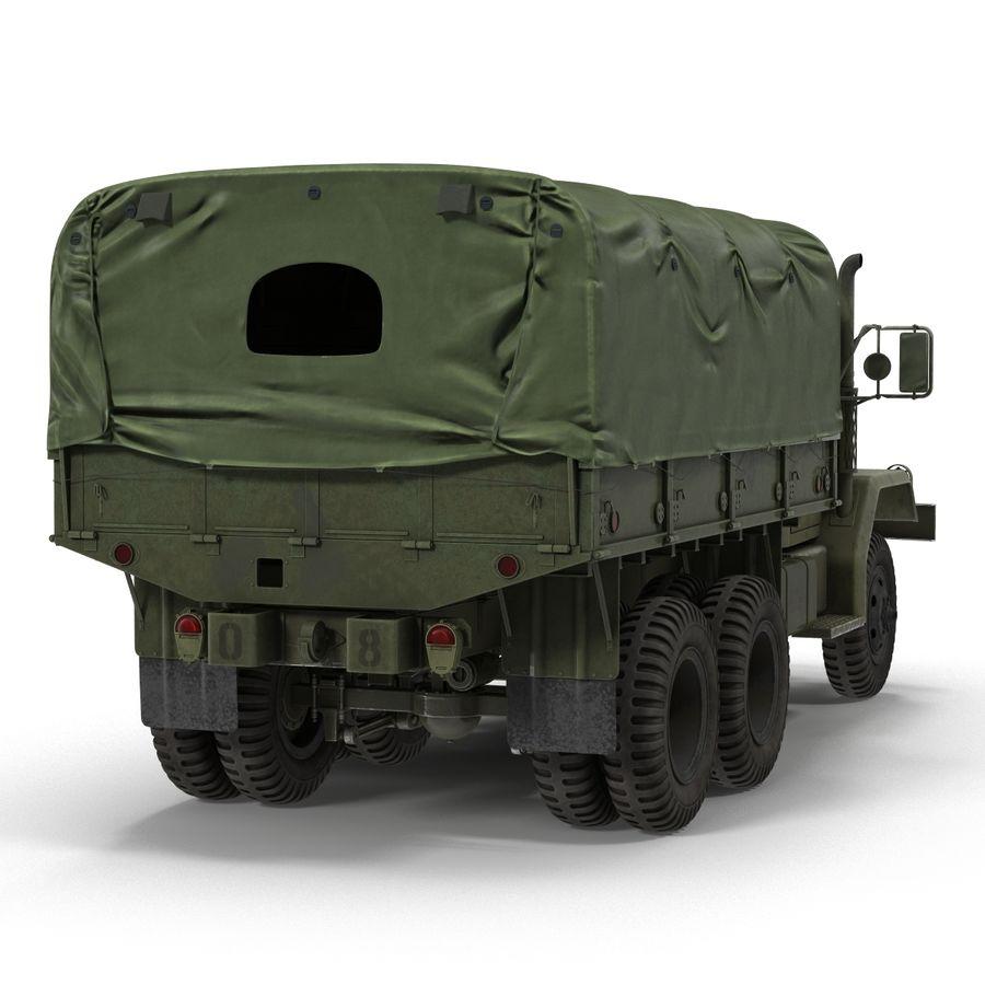 Коллекция грузовых военных автомобилей royalty-free 3d model - Preview no. 33