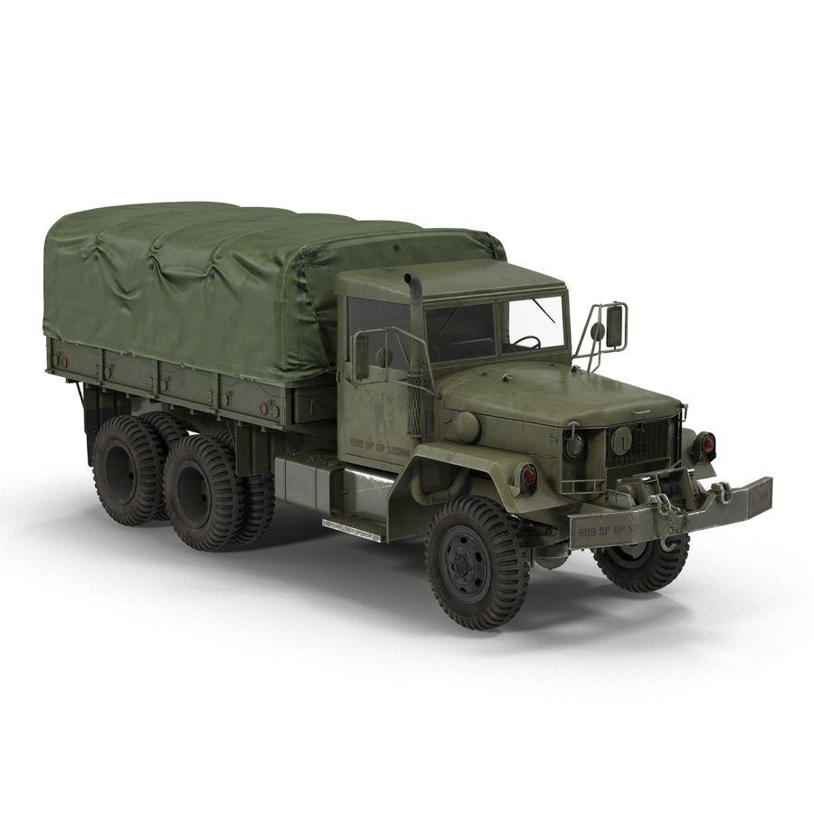 Коллекция грузовых военных автомобилей royalty-free 3d model - Preview no. 27