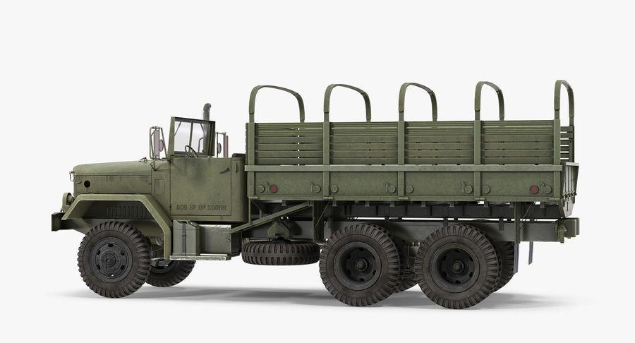 Коллекция грузовых военных автомобилей royalty-free 3d model - Preview no. 18