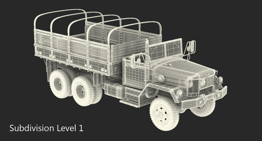 Коллекция грузовых военных автомобилей royalty-free 3d model - Preview no. 44