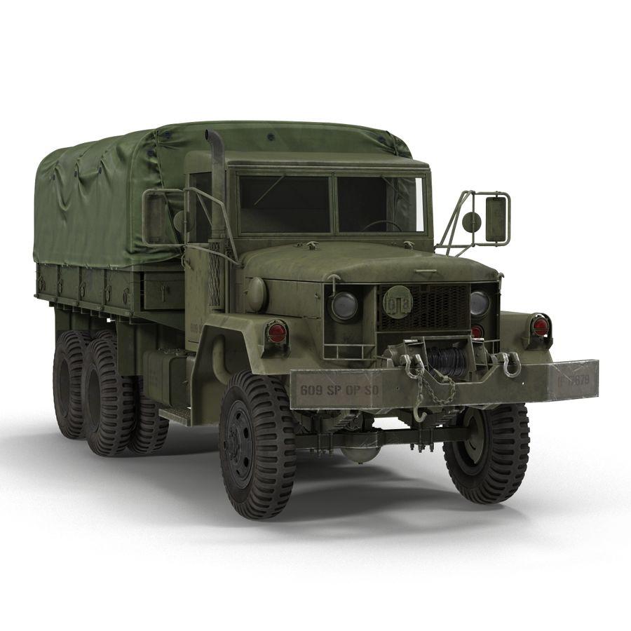 Коллекция грузовых военных автомобилей royalty-free 3d model - Preview no. 32