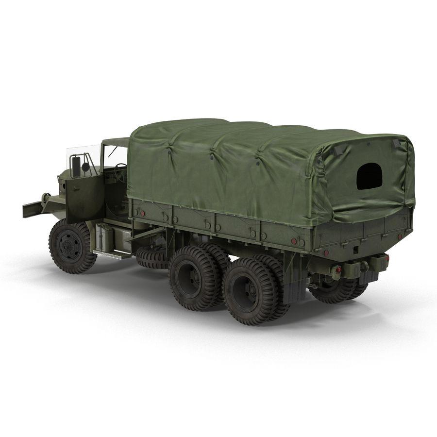 Коллекция грузовых военных автомобилей royalty-free 3d model - Preview no. 30