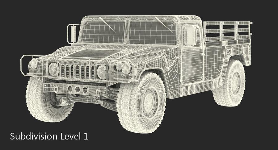 Коллекция грузовых военных автомобилей royalty-free 3d model - Preview no. 42