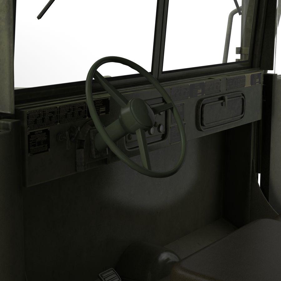 Коллекция грузовых военных автомобилей royalty-free 3d model - Preview no. 40