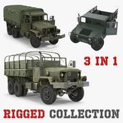 Askeri Kargo Araçları Arma Koleksiyonu 3d model