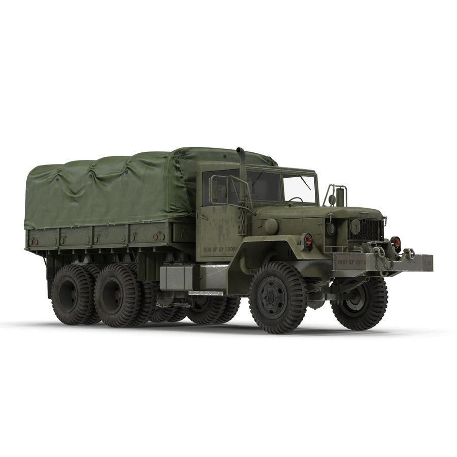 Коллекция грузовых военных автомобилей royalty-free 3d model - Preview no. 34