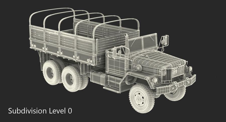 Коллекция грузовых военных автомобилей royalty-free 3d model - Preview no. 43