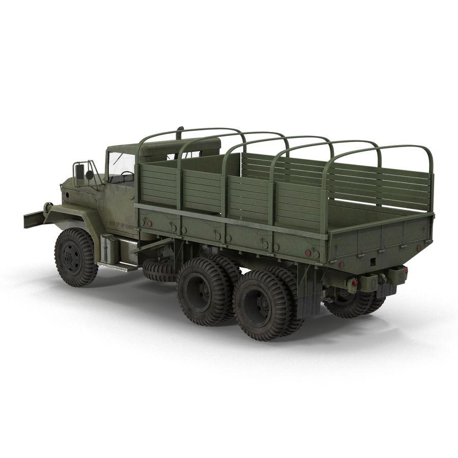 Коллекция грузовых военных автомобилей royalty-free 3d model - Preview no. 31