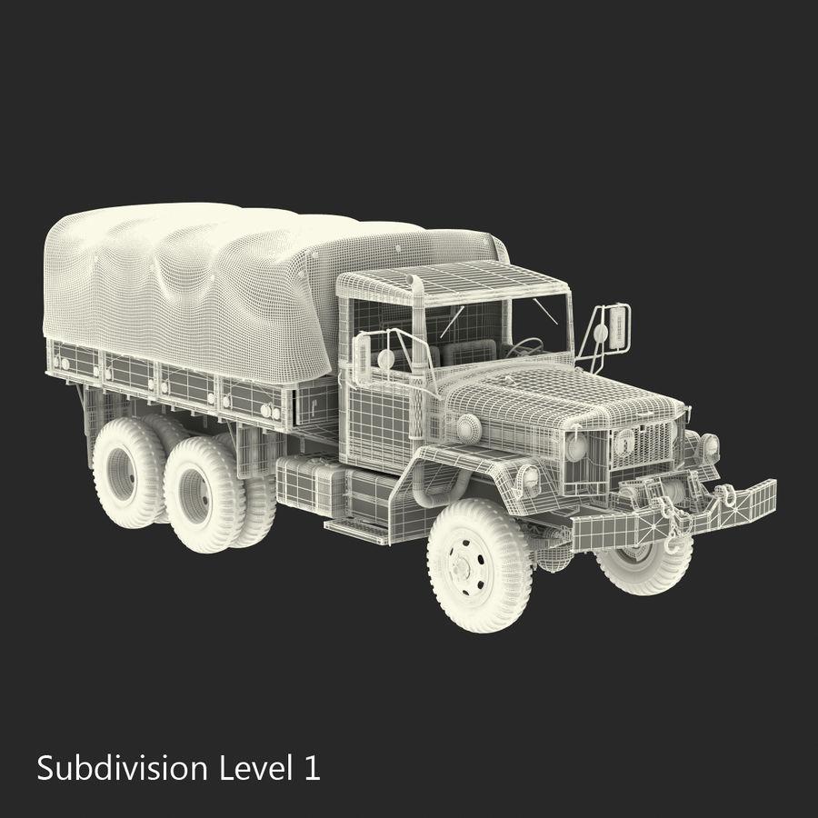 Коллекция грузовых военных автомобилей royalty-free 3d model - Preview no. 46